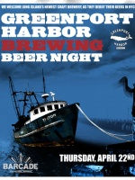 Greenport Harbor Night - April 22, 2010