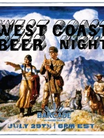 West Coast Beer Night - July 29, 201