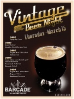 Vintage Beer Night - March 15, 2012