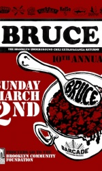 B.R.U.C.E. — March 2, 2014 at Barcade® in Williamsburg, Brooklyn, NY