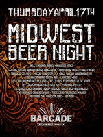 Midwest Beer Night — April 17th, 2014 at Barcade® in Brooklyn, NY