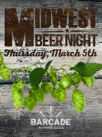 Midwest Beer Night — March 5th, 2015