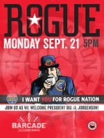 Rogue Ales Night — September 21, 2015