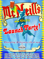 McNeill's NYC Launch Party - February 11, 2010
