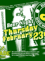 Brooklyn Brewery Night - February 23, 2012