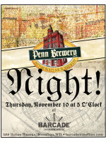 Penn Brewery Night - November 10, 2011