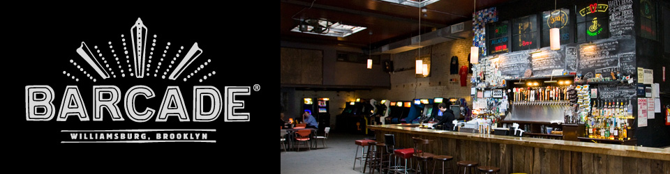Barcade | 388 Union Avenue, Brooklyn, New York 11211 | 718-302-6464