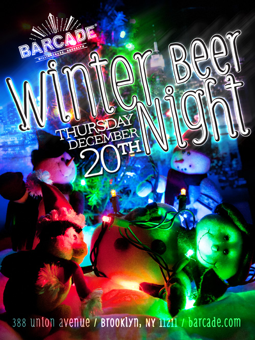 Winter Beer Night — December 20, 2012