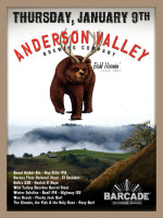 Anderson Valley Night — January 9, 2014 at Barcade® in Williamsburg, Brooklyn, NY