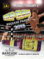 Bell's HopSlam Release Party — February 2, 2015 at Barcade® in Brooklyn, NY