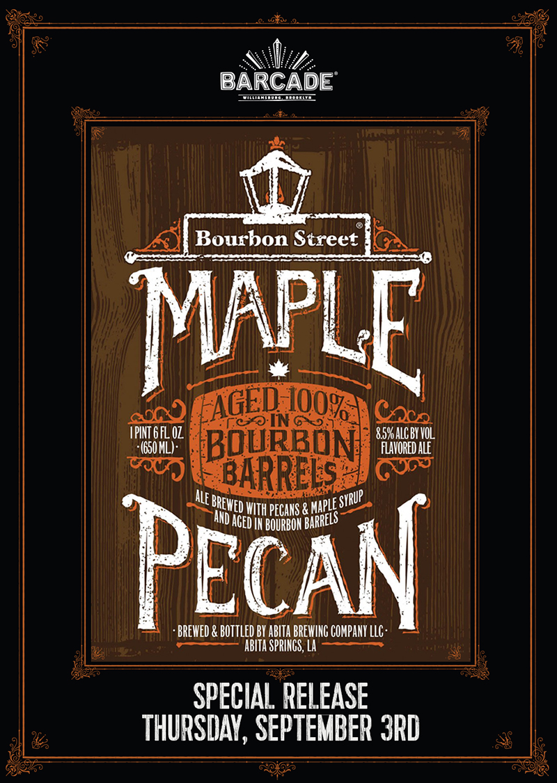 Abita Bourbon Street Maple Pecan Release Party!