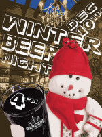 Winter Beer Night — December 10, 2015 at Barcade® in Brooklyn, New York