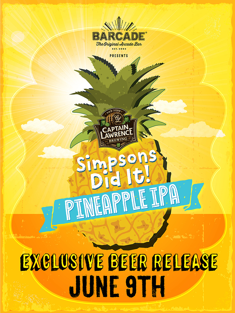 Exclusive Beer Launch: CAPTAIN LAWRENCE SIMPSONS DID IT! IPA