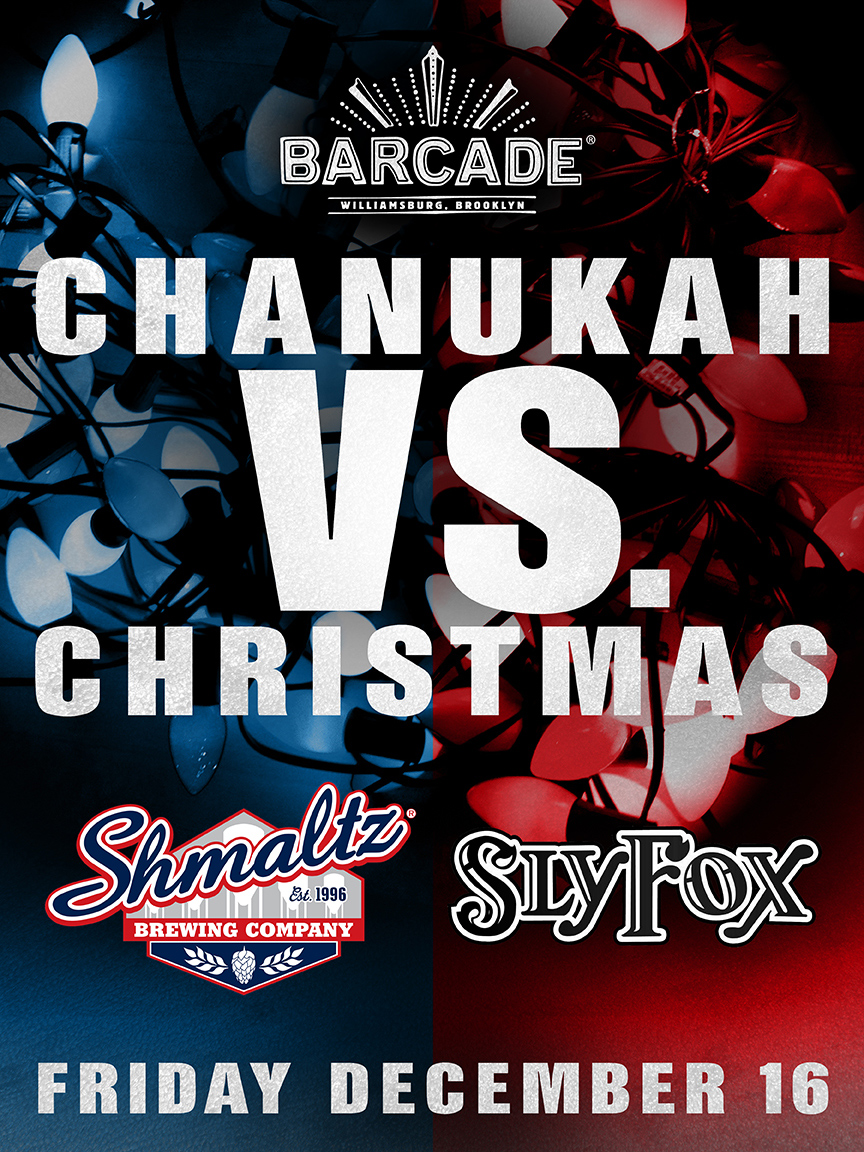 Chanukah vs. Christmas: Sly Fox vs. Shmaltz!!!