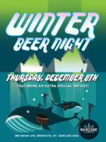 Winter Beer Night — December 8, 2016 at Barcade® in Williamsburg, Brooklyn, NY