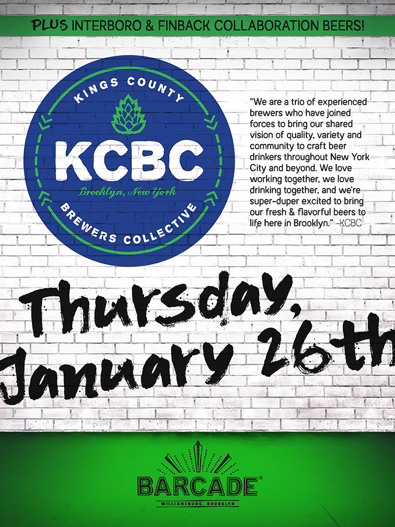Kings County Brewers Collective Night!!!