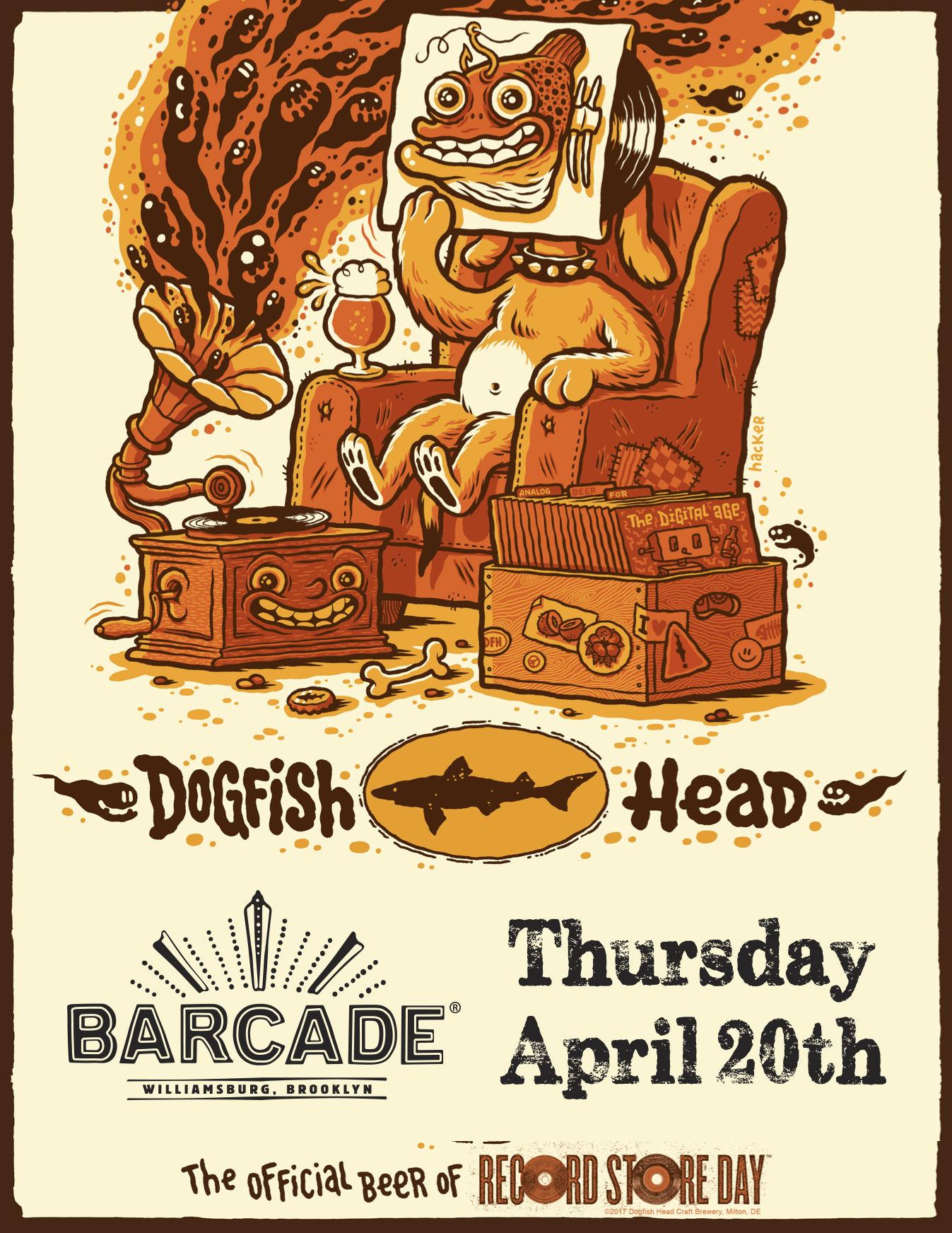 Record Store Day Celebration With Dogfish Head