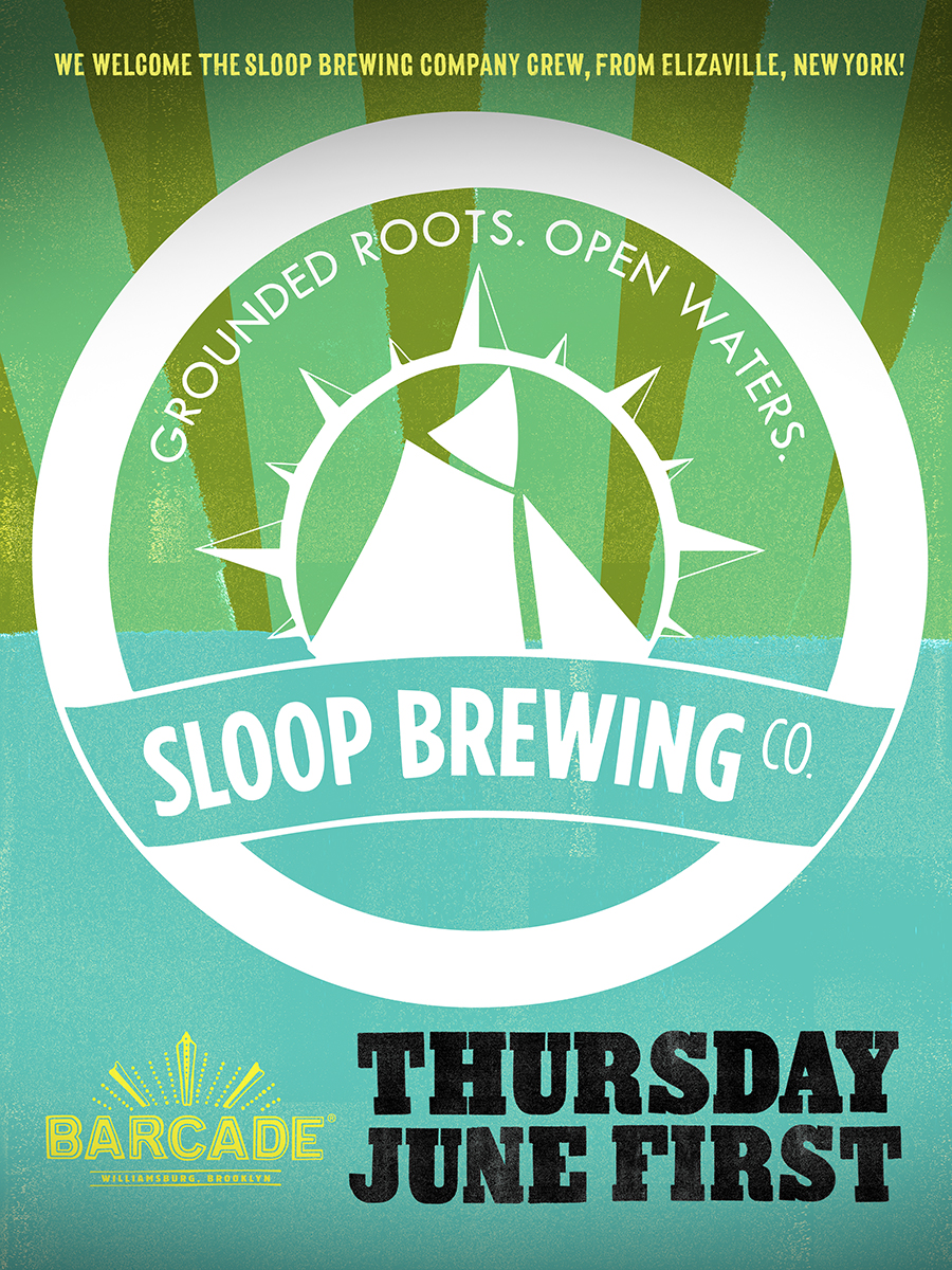 Sloop Brewing Night!!!