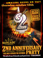 Barcade 2nd Anniversary — October 12, 2006