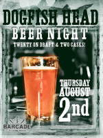 Dogfish Head Night - August 2, 2012