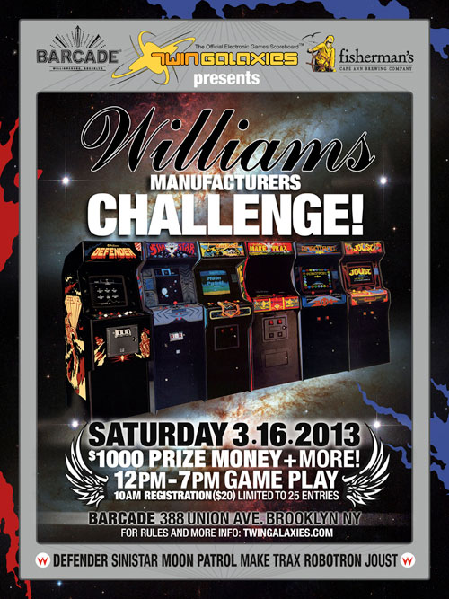 Williams Challenge — March 16, 2013
