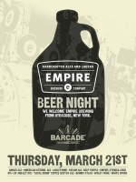 Empire Brewing Company Night – March 21, 2013