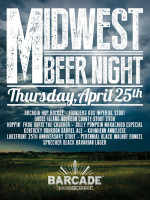 Midwest Beer Night — April 25, 2013