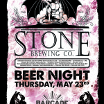 Stone Brewing Night — May 23, 2013 at Barcade® in Brooklyn, NY
