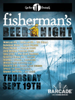 Fisherman's Night — September 19, 2013 at Barcade® in Brooklyn, New York