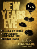 Barcade New Year's Eve Party — December 31, 2015 in Brooklyn, NY