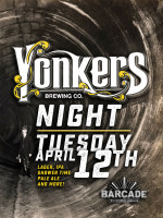 Yonkers Brewing Co. Night — April 12, 2016 at Barcade® in Brooklyn, NY