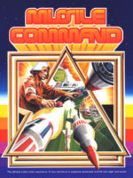 Missile Command — 1980 at Barcade® in Williamsburg, Brooklyn, NY