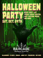Barcade Halloween Party — October 29, 2016 at Barcade® in Brooklyn, NY