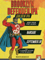 Brooklyn Defender Pint Night — September 28, 2017 at Barcade® in Brooklyn, N.Y.