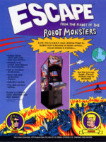Escape From The Planet Of The Robot Monsters — 1989 at Barcade® in Williamsburg, Brooklyn, NY | arcade video game