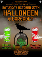 Barcade® Halloween — October 27, 2018 at Barcade® in Williamsburg, Brooklyn, New York