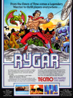 Rygar — 1986 at Barcade® in Williamsburg, Brooklyn, NY | arcade video game flyer graphic