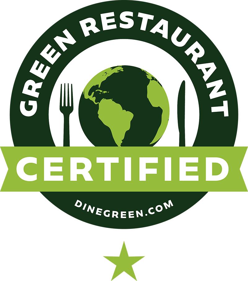 Barcade | Green Restaurant Association Certified 1-Star Logo | Dinegreen.com