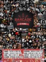 Barcade 15th Anniversary Celebration — October 3, 2019 at Barcade® in Brooklyn, New York | poster