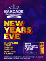 New Years Eve at Barcade on Tuesday, December 31st 2019 in Williamsburg, Brooklyn