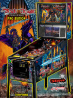 Black Knight: Sword of Rage (pinball) — 2019 at Barcade® in Williamsburg, Brooklyn, NY | arcade game flyer graphic