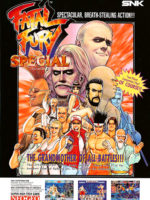 Fatal Fury Special — 1993 at Barcade® in Williamsburg, Brooklyn, NY | arcade game flyer graphic