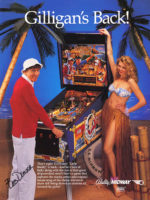 Gilligan's Island — 1991 at Barcade® in Williamsburg, Brooklyn, NY | arcade game flyer graphic