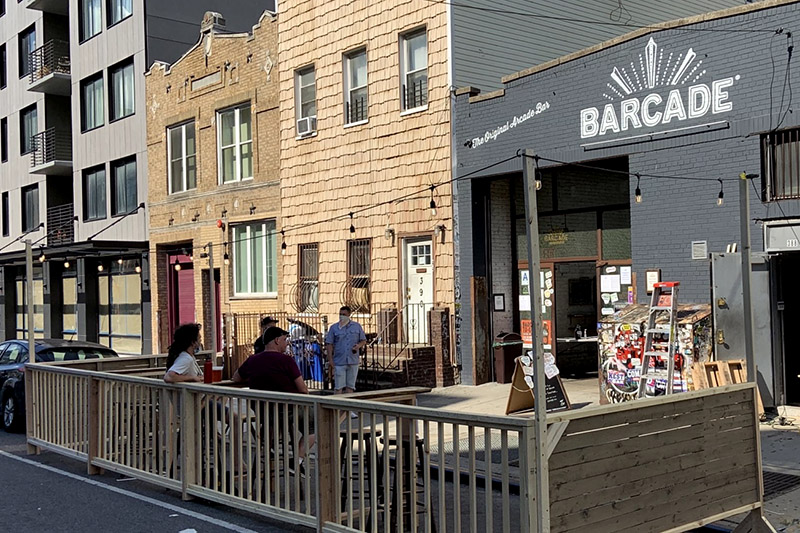 Barcade® — Williamsburg, Brooklyn, NY - outdoor seating now available