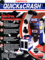 Quick and Crash — 1999 at Barcade® in Williamsburg, Brooklyn, NY | arcade game flyer graphic