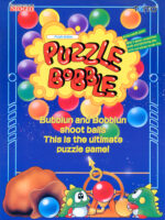 Puzzle Bobble — 1994 at Barcade® in Williamsburg, Brooklyn, NY | arcade game flyer graphic