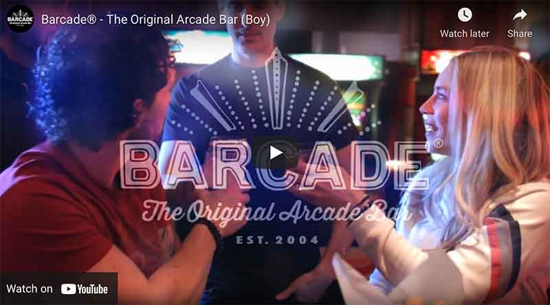 Barcade® Commercial (Boy) | YouTube Link Image